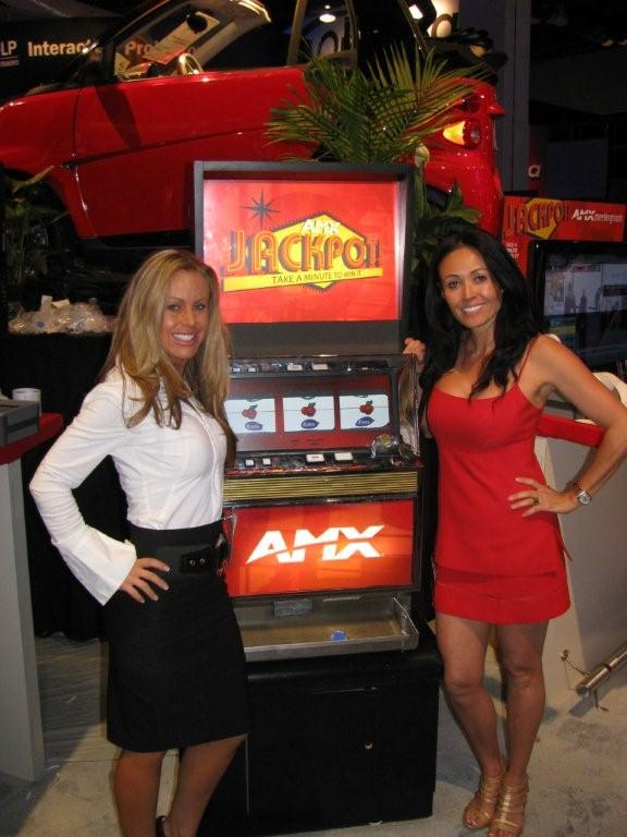 Promotional Slot Machines for Trade Shows - Las Vegas - LA - Nationwide