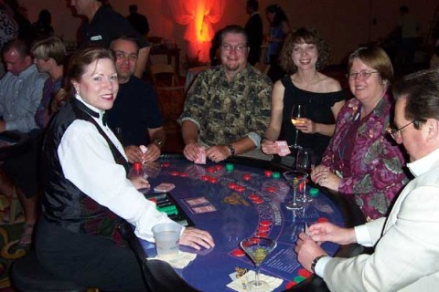 Casino Games and Dealers for Corporate Events and Mixers