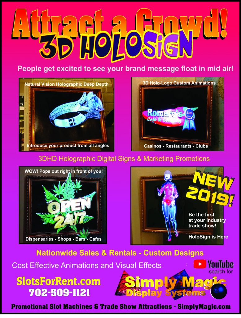 HoloSign Holographic 3D Digital Displays