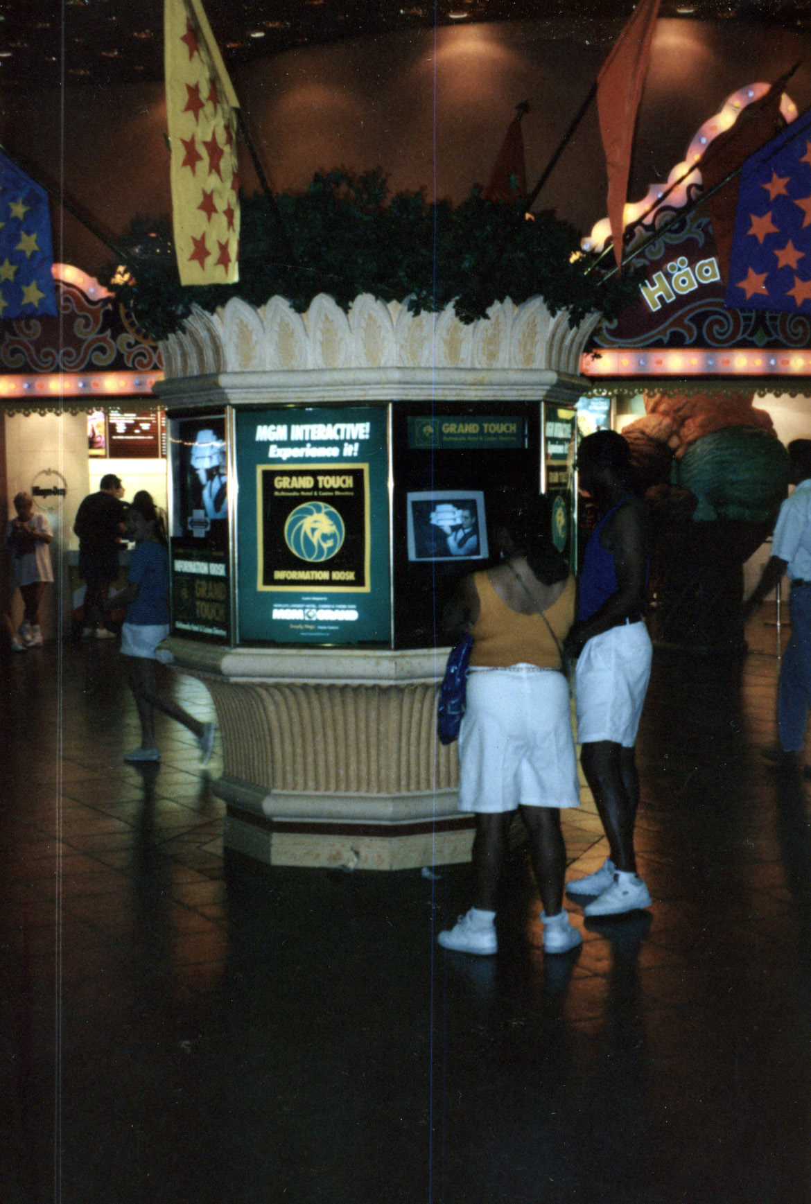 MGM Grand Touch Kiosk 1993
