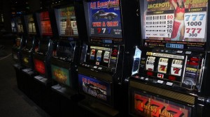 McCarran Movie Prop Slot Machines - PhotoP1030427
