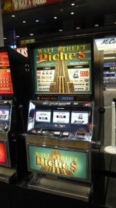 Wall Street Riches -Movie Prop Slot Machines - PhotoP1030437