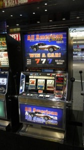 All American Corvette - Movie Prop Slot Machines - PhotoP1030438