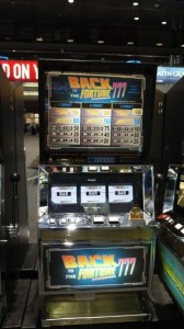 Back to the Fortune 3 Movie Prop Slot Machines - PhotoP1030443
