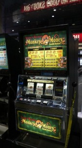 Monkey Money Movie Prop Slot Machines - PhotoP1030444